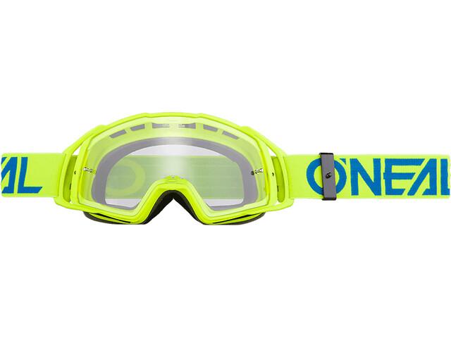 ONeal B-20 Goggle FLAT hi-viz/blue-clear